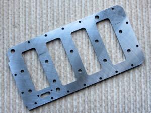 Block brace plate