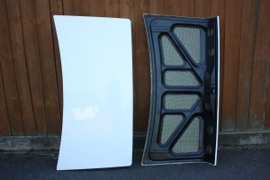 GRP boot lid