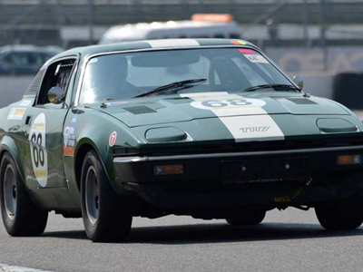 Siegmar Queck's Sprint engined TR7